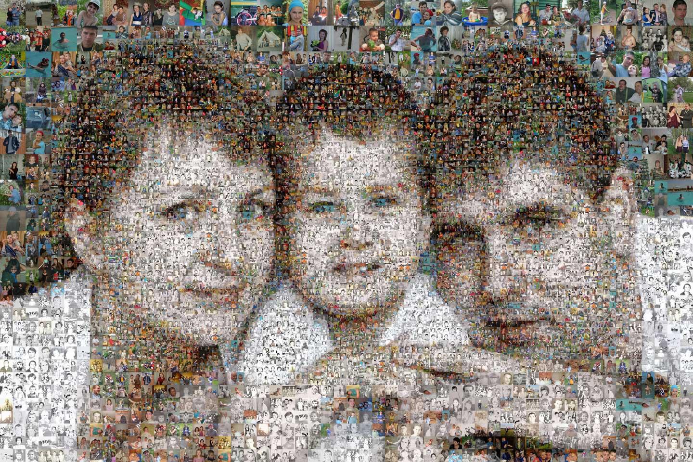 программа фото из маленьких фотографий